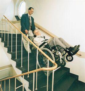 trappelift til kørestol